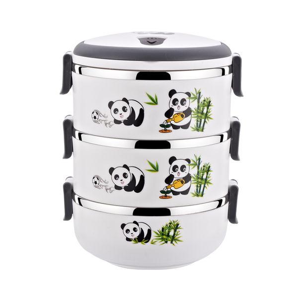 多層保溫飯盒便當盒3層不銹鋼保溫桶成人分格雙層 SSJJG【時尚家居館】