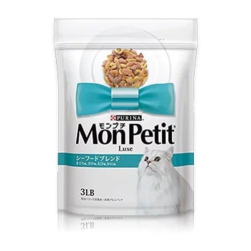 寵物家族-MonPetit貓倍麗成貓乾糧-海鮮拼盤3LB(1.36kg)