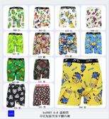 [特價區 $49/件] 6~8 歲棉質印花短版男童平腳內褲(圖案隨機出貨) 適合腰圍 60-63 cms