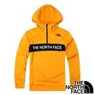 【THE NORTH FACE 美國】男 連帽長袖T恤『黃』NF0A4U5K 戶外 登山 時尚 休閒 保暖 防風