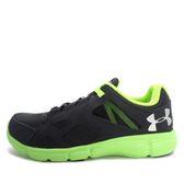 Under Armour UA Thrill [1258794-016] 男 慢跑鞋 黑 綠