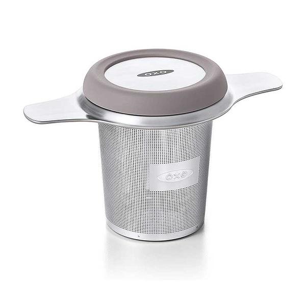 OXO 不銹鋼濾茶器 細目 BREW Tea Infuser Basket 矽膠保護蓋 B07GF4WYGT [9美國直購]