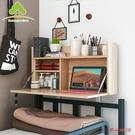 懸空桌 大學生宿舍神器床上書桌上鋪懸空寢室懶人桌下鋪電腦桌可折疊桌子T
