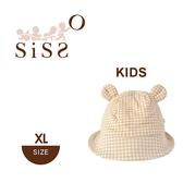 【SISSO有機棉】經典格格QQ小熊帽(加大)