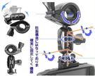 hp papago gosafe dod 360度 t型短軸後視鏡扣環式支架天瀚視連科愛國者免用吸盤車架