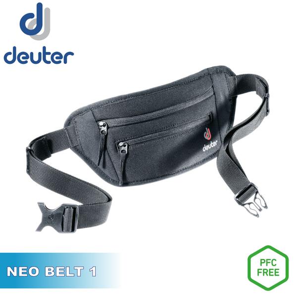【Deuter 德國 NEO BELT I 腰包《黑》】3910220/防盜/貼身包/運動腰包/錢包/旅遊收納