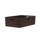 KEYWAY 博多系列 收納盒 10.1L 咖啡色 型號TBD30-2