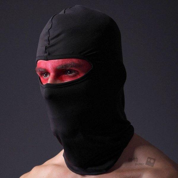 【BK0107】戶外騎行萊卡面罩 自行車單車機車騎士頭套 頭罩頭巾圍脖圍巾防風帽 超彈防曬防風