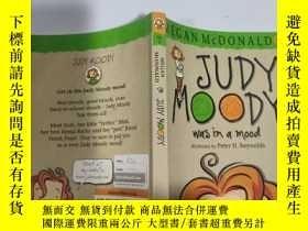 二手書博民逛書店judy罕見moody was in a mood 朱迪·穆迪心情很好...Y200392