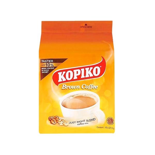 印尼 KOPIKO 三合一即溶黃糖咖啡(275g)【小三美日】