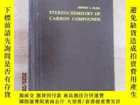 二手書博民逛書店外文書罕見含碳化合物的立體化學(共486頁,精裝,16開)Y15969 出版1962