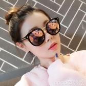 墨鏡2020網紅新款gm墨鏡防紫外線太陽鏡女ins韓版潮明星同款街拍圓臉 coco