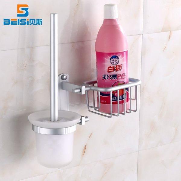小熊居家多功能 創意刷子廁所衛生間清潔用品潔廁刷坐便刷長柄馬桶刷套裝特價