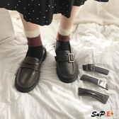 娃娃鞋 小皮鞋 平底 英倫軟妹 日系  百搭軟底 單鞋