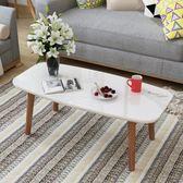 小桌子 榻榻米小茶幾北歐窗臺地臺矮桌炕幾實木腿烤漆方型日式飄窗桌
