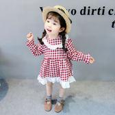 女童洋氣裙子春秋兒童連衣裙2018新款1一3歲童裝女寶寶春裝公主裙洋裝禮物限時八九折