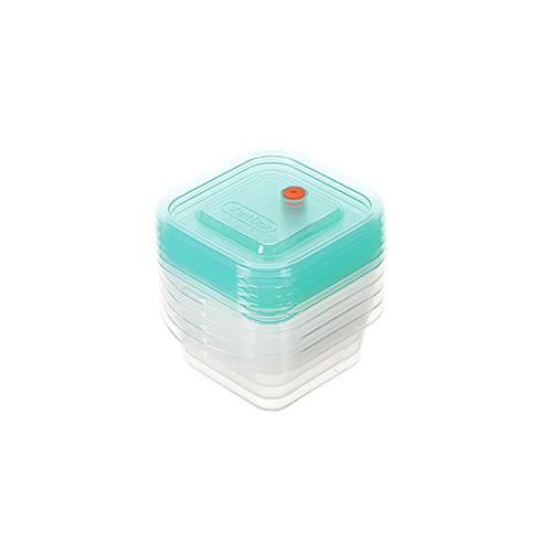 【好市吉居家生活】聯府Keyway VBS-250-5 易廚樂方型保鮮盒-5入 收納盒 置物盒