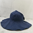 折疊遮陽帽夏天女防紫外線大檐帽空頂帽防曬太陽帽沙灘帽出遊親子 店慶降價