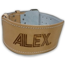 【ALEX】軟墊牛皮腰帶L A-3503