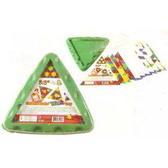 書立得-【智高GIGO】智高:圖案積木-三角盤(#1162)