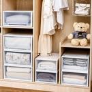 家用塑料抽屜式收納箱衣櫃衣物收納盒衣服被...