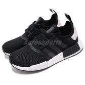 adidas NMD_R1 W 黑 白 粉紅 boost 襪套式設計 運動鞋 女鞋【PUMP306】 B37649