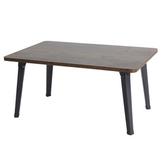 樂嫚妮 折疊和室茶几邊矮桌-仿木色 寬-60cm仿木色