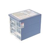 SU-003 秘書三層資料櫃 混色