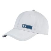 UA Threadborne Training Cap [1300074-941] 男 帽 運動 休閒 遮陽 透氣 灰