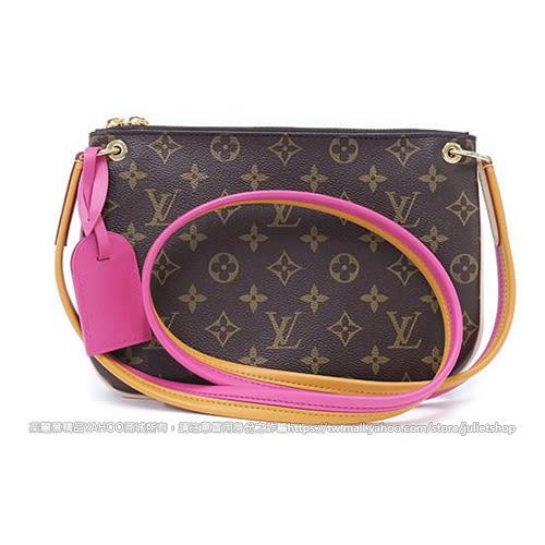 茱麗葉精品 全新精品 Louis Vuitton LV M44053 Lorette 經典花紋雙色織帶斜背小方包 (預購)
