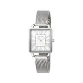 【Folli Follie】Retro Square雅典女神羅馬時尚腕錶-高貴銀/WF16T012BPS_XX/台灣總代理公司貨享兩年保固