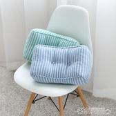 靠墊 記憶海綿辦公室椅子靠墊孕婦護腰靠墊腰枕汽車車用靠枕沙發靠背 名創家居DF