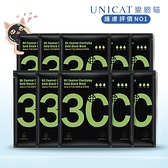 (買5送5)控油黑面膜 - 無油光平衡淨顏黃金黑面膜 (細緻款)【UNICAT變臉貓】