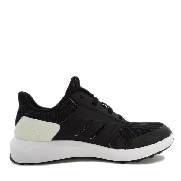 Adidas Rapidarun Knit C [AH2608] 中童鞋 運動 休閒 慢跑 透氣 舒適 愛迪達 黑 白