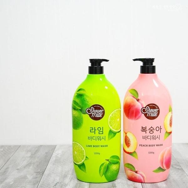【Shower Mate】微風如沐果香沐浴乳(甜蜜桃) 1200ML