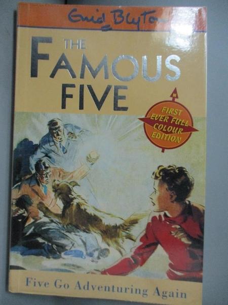 【書寶二手書T6/原文小說_OPJ】Five Go Adventuring Again : Book 2_Enid Bl