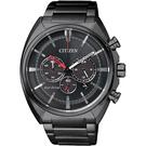 聖誕推薦 CITIZEN Eco-Drive 光動能跨時代計時腕錶-黑/ 43mm CA4285-50H