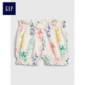 Gap x Disney女嬰兒 迪士尼系列米妮泡泡短褲 470891-象牙白