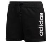 Adidas W E LIN SHORT女款黑色短褲-NO.DP2393