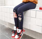 女童內搭褲 兒童內搭褲女童裝2018秋裝新款外穿春秋冬裝女寶寶加絨加厚棉褲子