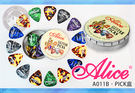 【小麥老師 樂器館】PICK PICK盒 彈片盒 (20裝) Alice A011B 吉他 電吉他 貝斯【A498】
