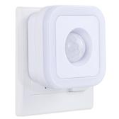 人體感應燈 插電喂奶床頭燈臥室聲光控節能過道自動人體感應燈充電【快速出貨八折下殺】