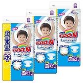 日本 大王製紙 境內版 增量 黏貼型 尿布 52片 (XL)*3包【5043】