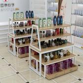 貨物架置物架收納櫃超市貨架母嬰店展示台便利店展示架鞋架陳列架中島櫃促銷台展示櫃xw