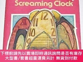 二手書博民逛書店The罕見Mystery Of The Screaming Clock (alfred Hitchcock & T