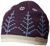 【Columbia】中性保暖快排毛帽暗紫