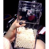 透明亞克力化妝刷收納桶 美妝刷收納盒筆刷筒桌面收納盒 黛尼時尚精品