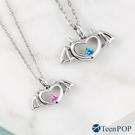 情侶項鍊 對鍊 ATeenPOP 925純銀項鍊 偷心小惡魔 翅膀 單個價格 情人節禮物