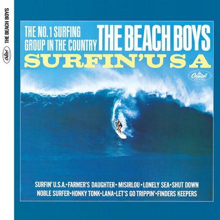 海灘男孩合唱團 美國衝浪 CD 2012新裝版 (音樂影片購)