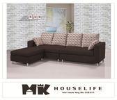 【MK億騰傢俱】BS138-01歐德曼L型布沙發